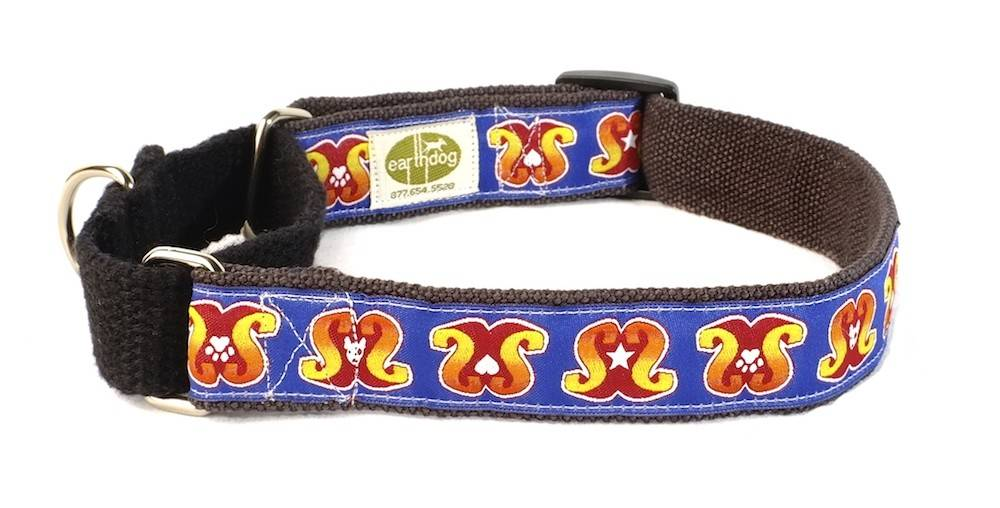 Earth Dog Earth Dog Super Snooty Hemp Martingale Collar