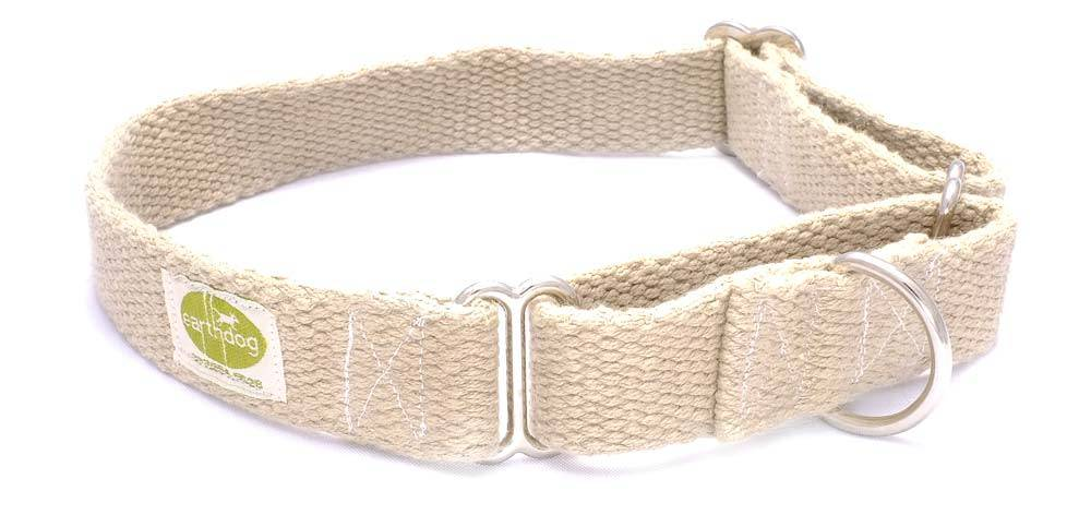 Earth Dog EARTH DOG NATURAL HEMP MARTINGALE COLLAR
