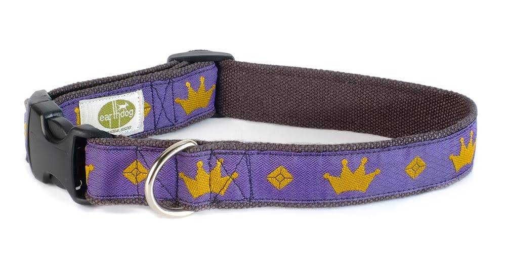 Earth Dog EARTH DOG JEWEL HEMP ADJUSTABLE COLLAR