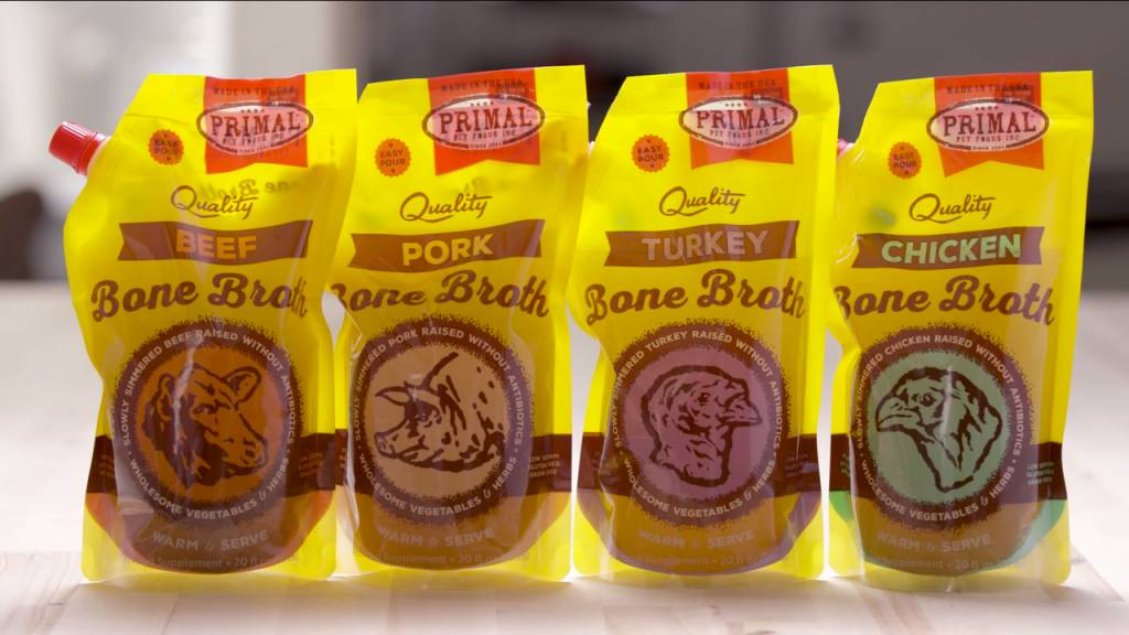 Primal Pet Foods Primal Pork Bone Broth 20oz