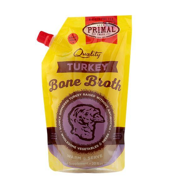 Primal Pet Foods Primal Turkey Bone Broth 20oz