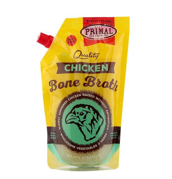 Primal Pet Foods Primal Chicken Bone Broth 20oz