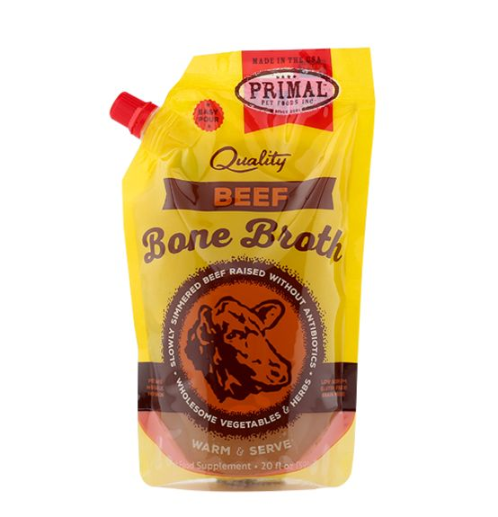 Primal Pet Foods Primal Beef Bone Broth 20oz
