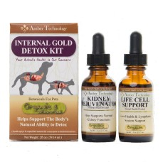 AMBER TECHNOLOGY INTERNAL GOLD DETOX KIT