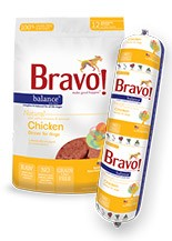 BRAVO BRAVO CHICKEN BALANCE CHUB 2lb