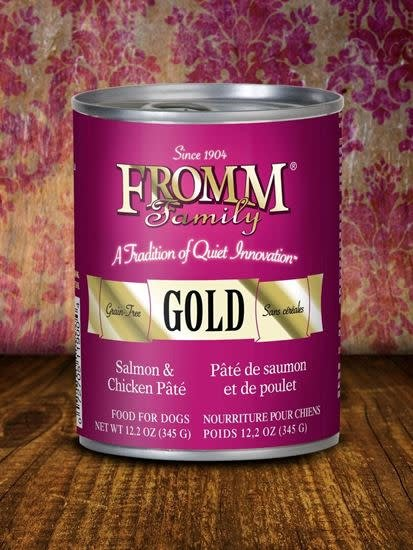 FROMM FROMM SALMON & CHICKEN PATE