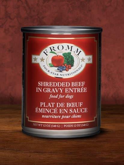 FROMM FROMM SHREDDED BEEF IN GRAVY ENTREE