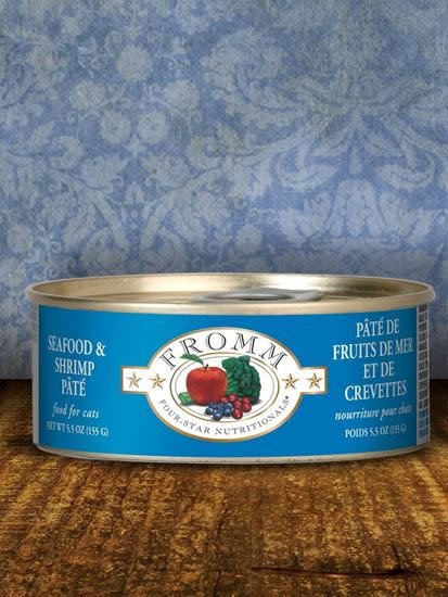 Fromm Fromm Seafood & Shrimp Pate For Cats
