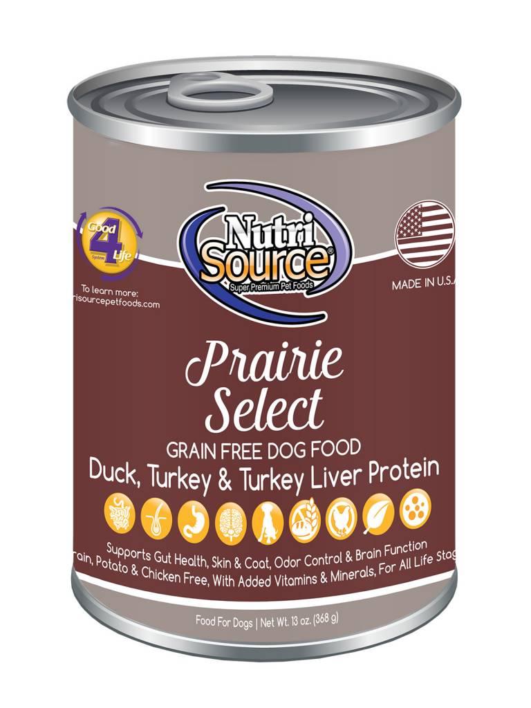 Nutrisource Nutrisource Prairie Select Grain Free