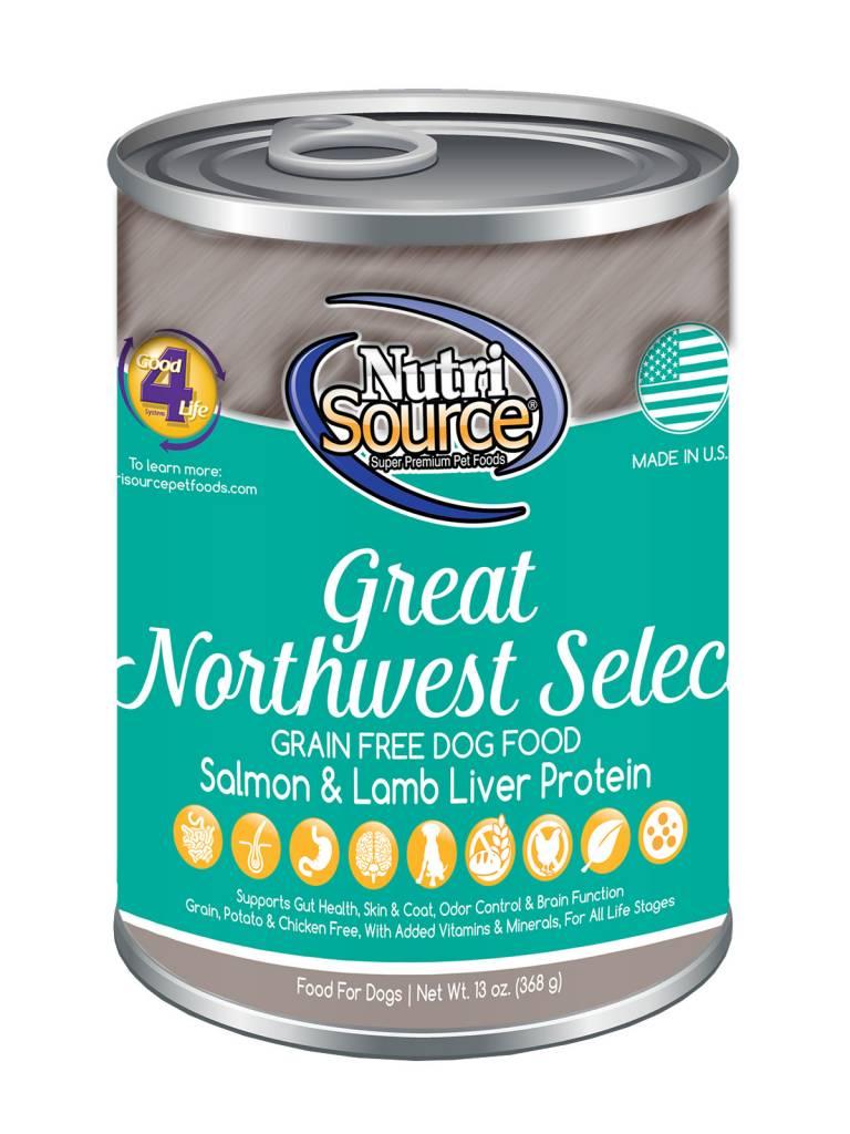 Nutrisource Nutrisource Great Northwest Select Grain Free