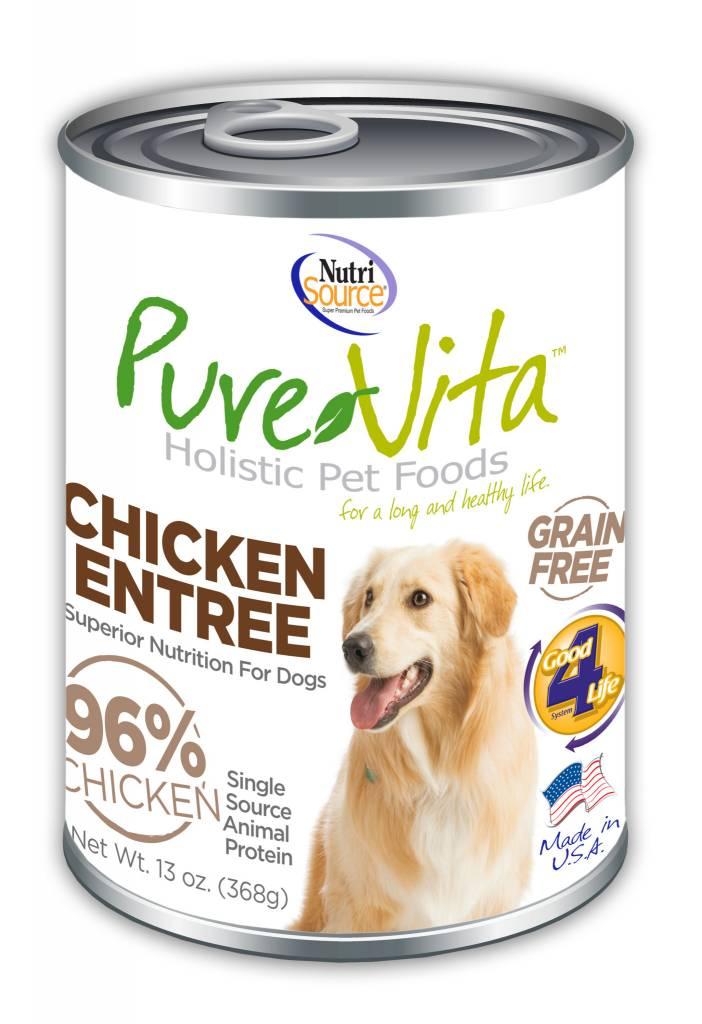Pure Vita Pure Vita Chicken Entree Grain Free
