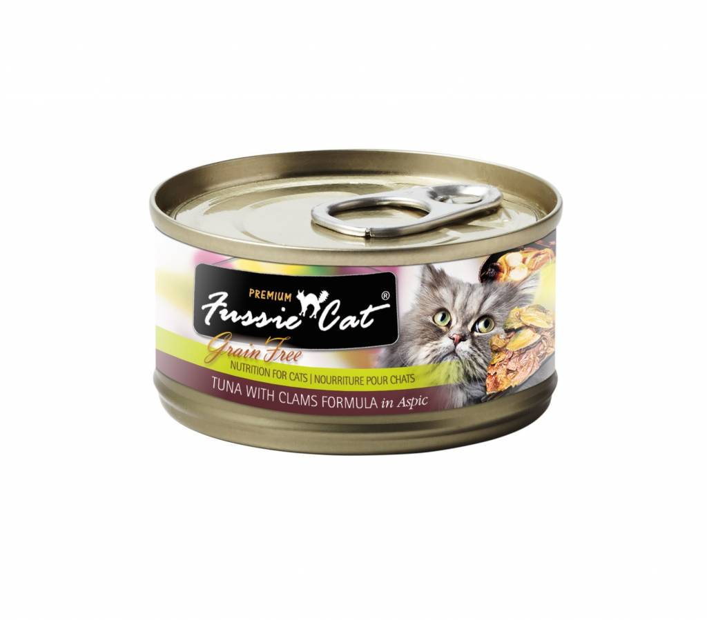 Fussie Cat Fussie Cat Tuna With Clams