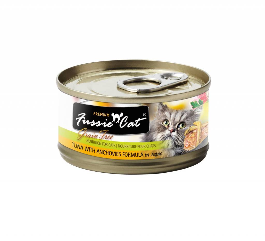 Fussie Cat Fussie Cat Tuna With Anchovies