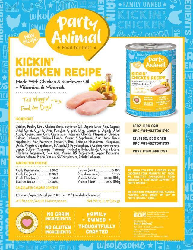 Party Animal Party Animal Kickin' Chicken Recipe