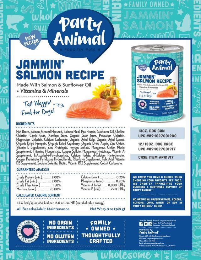 Party Animal Party Animal Jammin' Salmon Recipe
