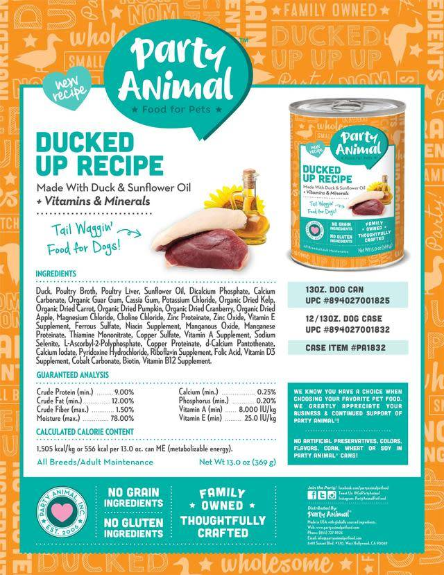 Party Animal Party Animal Ducked Up Recipe