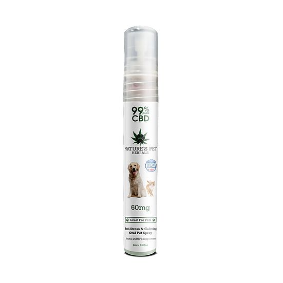 Nature's Pet Herbals Nature's Pet Herbals CBD Oral Spray for Pet Anxiety