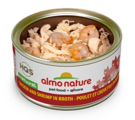 ALMO NATURE ALMO NATURE CHICKEN AND SHRIMP IN BROTH