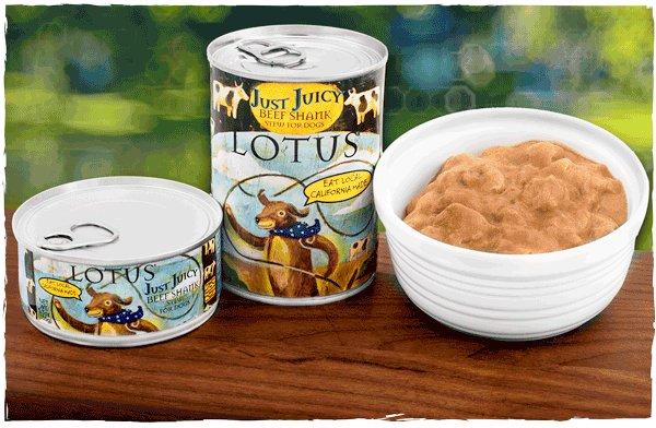 Lotus Pet Foods Lotus Grain Free Just Juicy Beef Shank