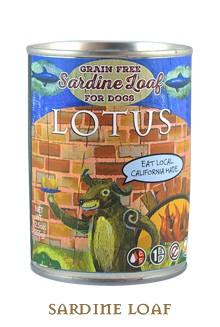 Lotus Pet Foods Lotus Grain Free Sardine Loaf