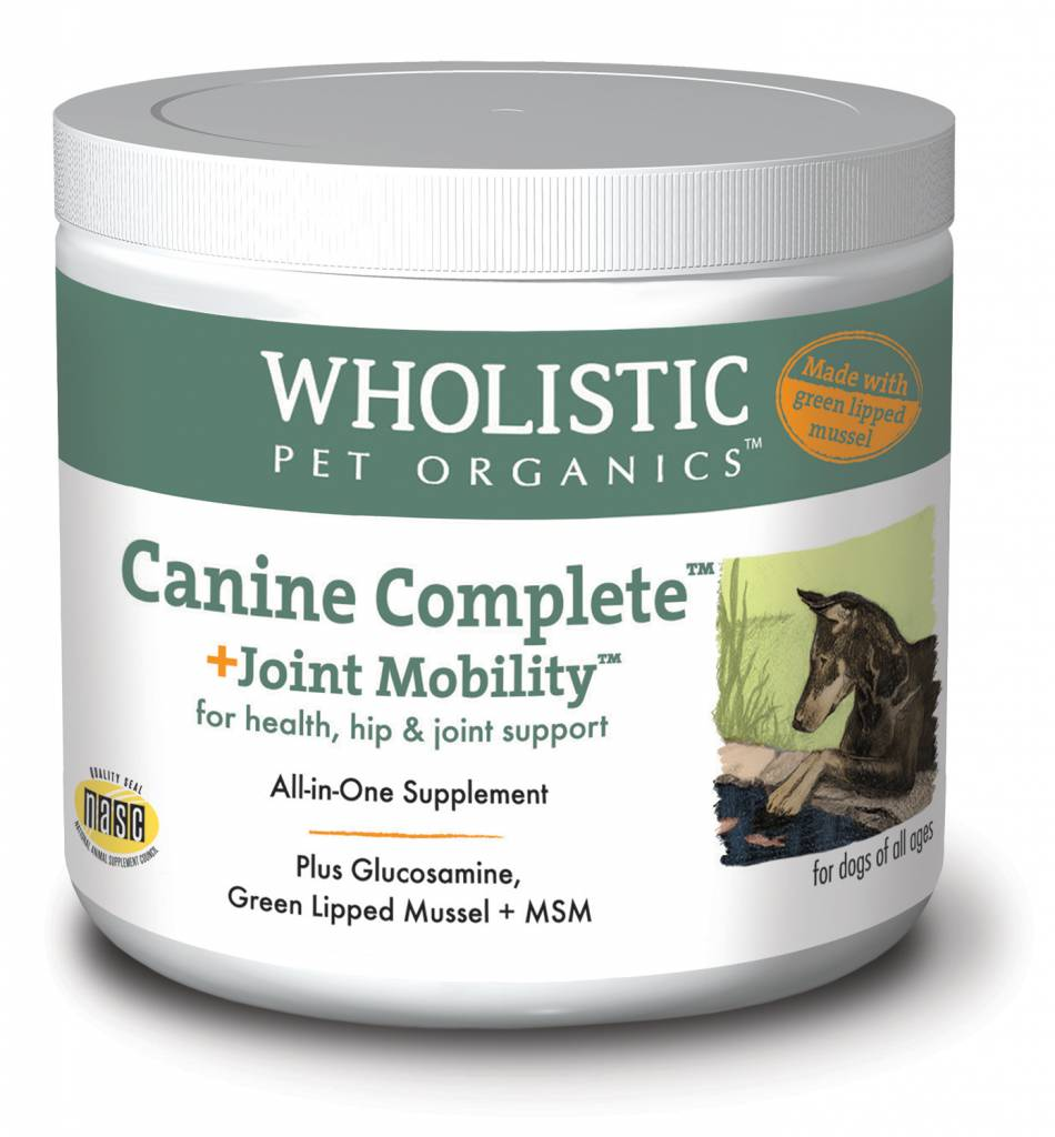 Wholistic Pet Organics Wholistic  Joint Mobility With Green Lipped Mussel 8oz