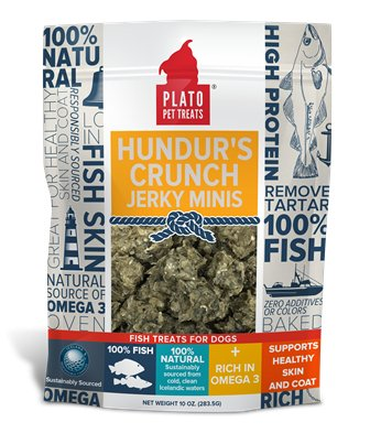 Plato Pet Treats Plato Hundur's Crunch Jerky Mini's
