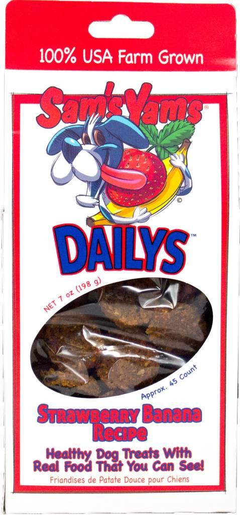 Front Porch Pets Sams Yams Strawberry Banana 7oz
