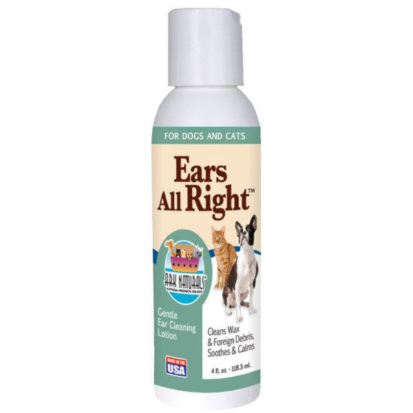 Ark Naturals Ark Naturals Ears All Right Gentle Ear Cleaner for Dogs and Cats, 4oz