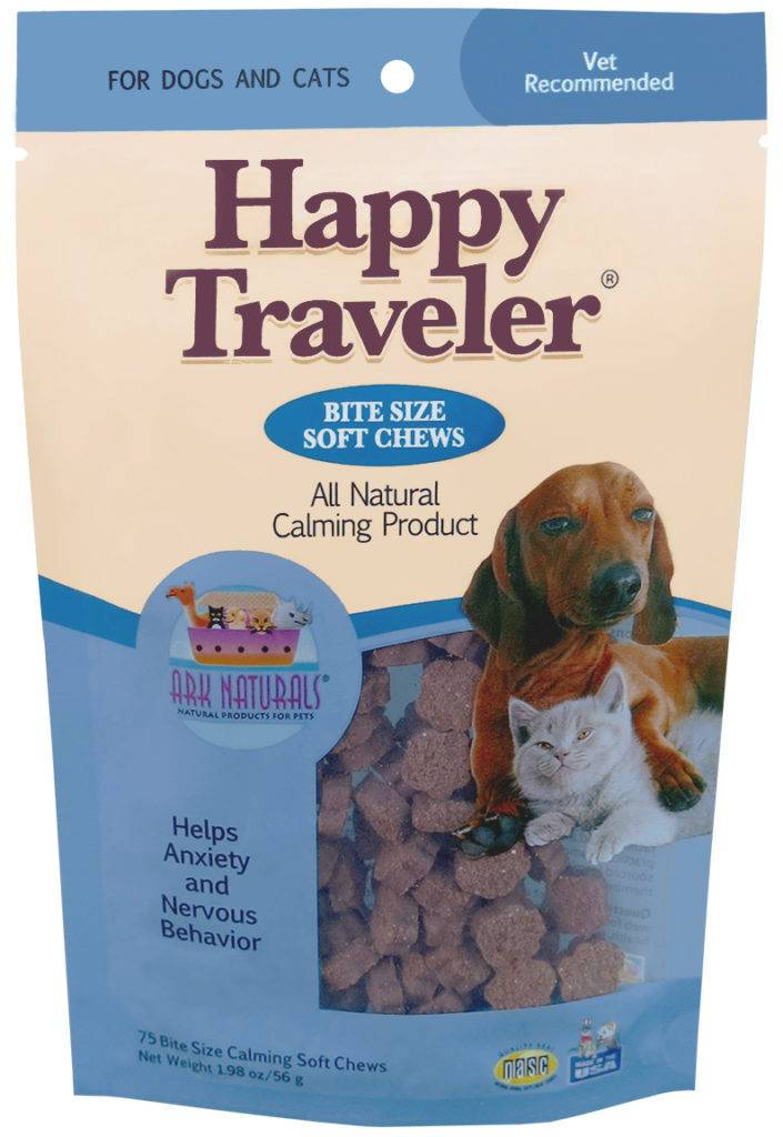 Ark Naturals Ark Naturals Happy Traveler Calming Product Soft Chews for Dogs and Cats, 8oz