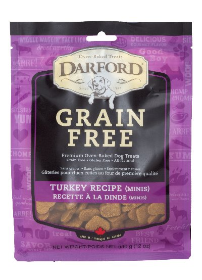 DARFORD DARFORD GRAIN FREE TURKEY MINI 12oz
