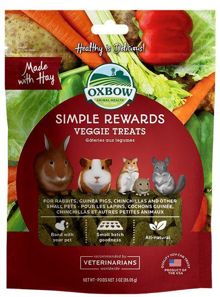 Oxbow Pet Products Oxbow Simple Reward Veggie 2oz