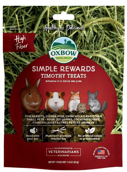 Oxbow Pet Products Oxbow Simple Reward Timothy 1.4oz