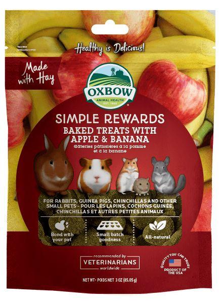 Oxbow Pet Products Oxbow Apple Banana Baked 2oz