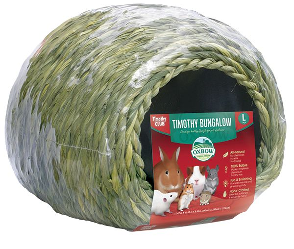 Oxbow Pet Products OXBOW TIMOTHY BUNGOLOW