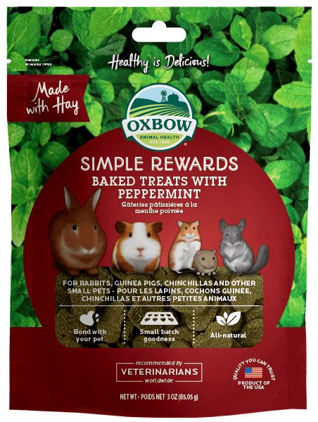Oxbow Pet Products Oxbow Peppermint Baked 2oz