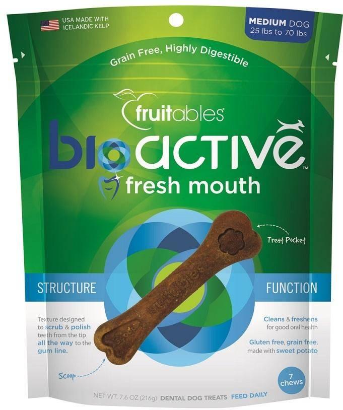 Fruitables Fruitables Bioactive Fresh Mouth Dental Chew