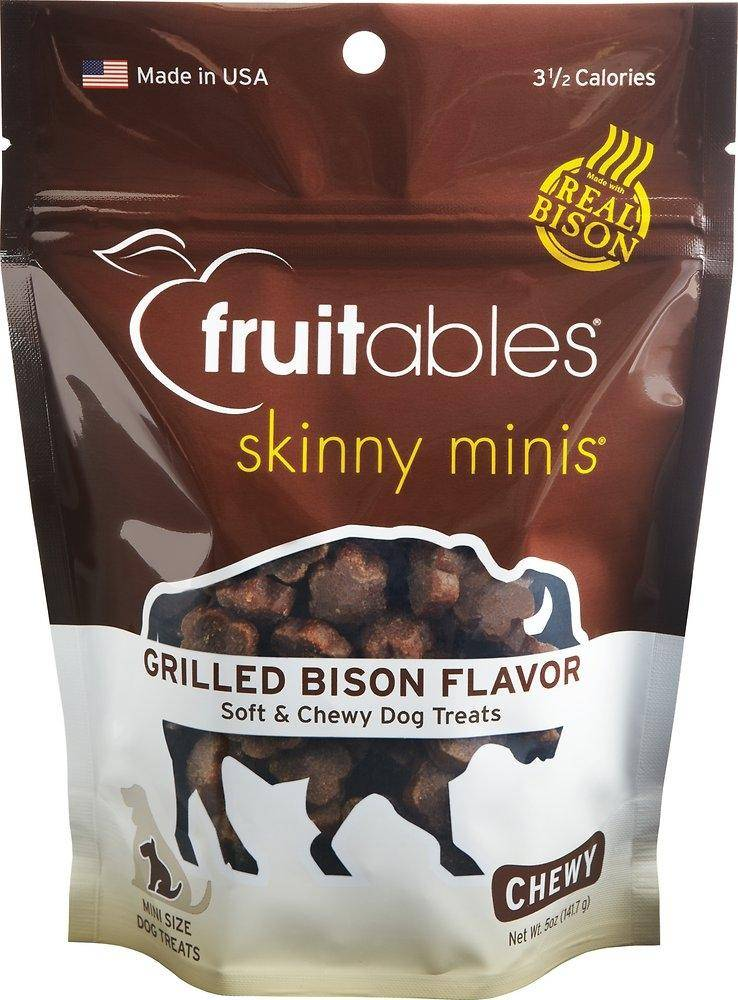 Fruitables Fruitables Skinny Minis Grilled Bison Chewy 5oz