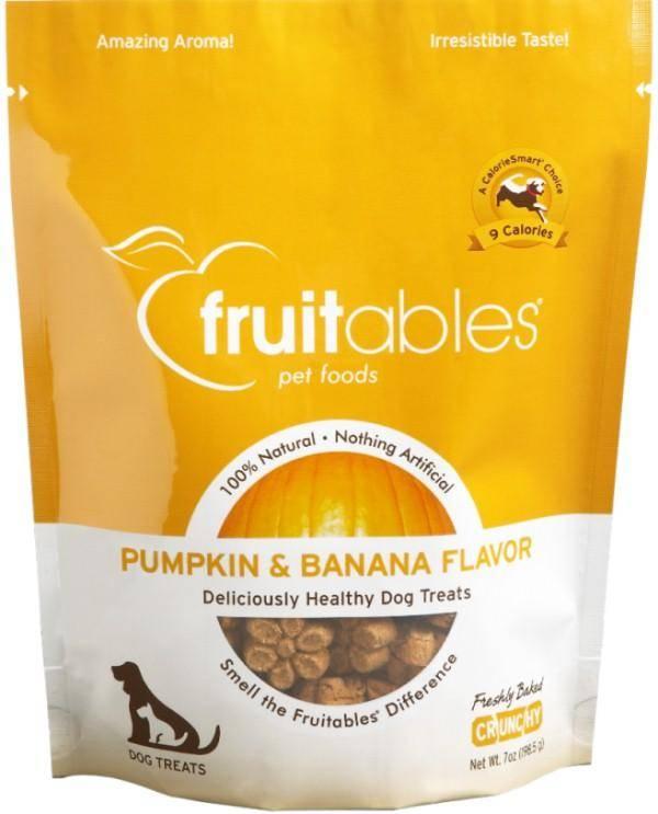 Fruitables Fruitables Baked Pumpkin & Banana  7oz