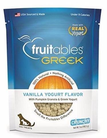 Fruitables Fruitables Baked Vanilla Greek Yogurt 7oz