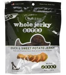 Fruitables Fruitables Whole Jerky Duck & Sweet Potato 5oz