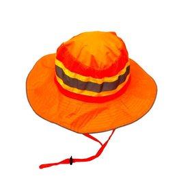 Chapeau haute visibilité