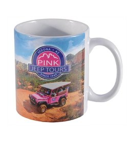 SMITH-SOUTHWESTERN SEDONA PINK JEEP TOURS MUG 10oz