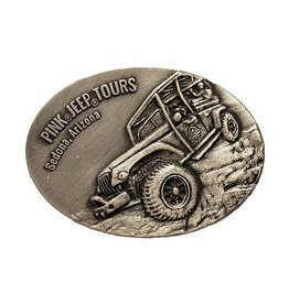 IMPACT PEWTER OVAL MAGNET