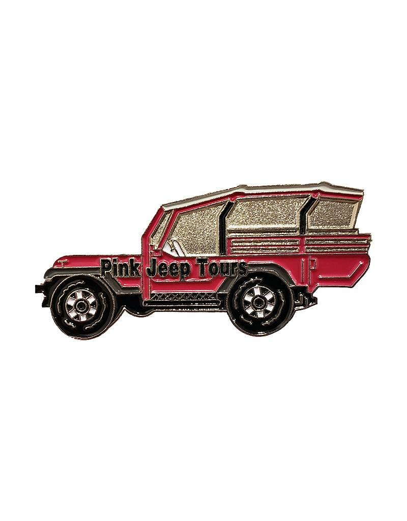 THE PIN CENTER METAL JEEP MAGNET