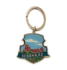THE PIN CENTER SEDONA SNOOPY ROCK KEYCHAIN