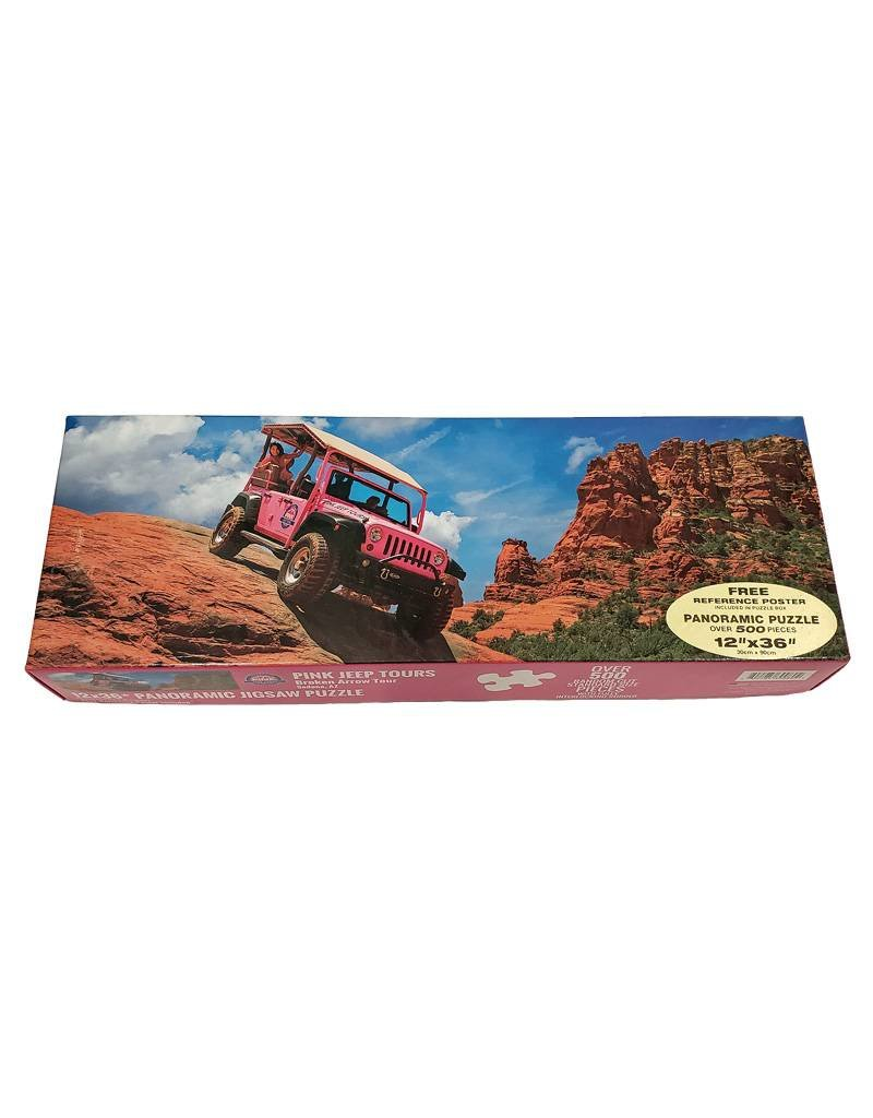 IMPACT SEDONA PINK JEEP TOURS PUZZLE