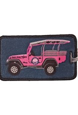 A-B EMBLEM JEEP LUGGAGE TAG