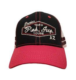 EMI SPORTSWEAR MESH TRUCKER HAT BLACK