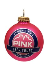 ART FOR THE YOUNG AT HEART SEDONA CHRISTMAS ORNAMENT PINK