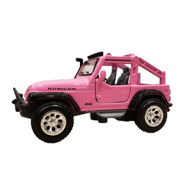 MAISTO INTERNATIONAL PINK JEEP TOY